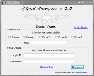 DoulCi Activator ICloud Bypass (Cracked Version)